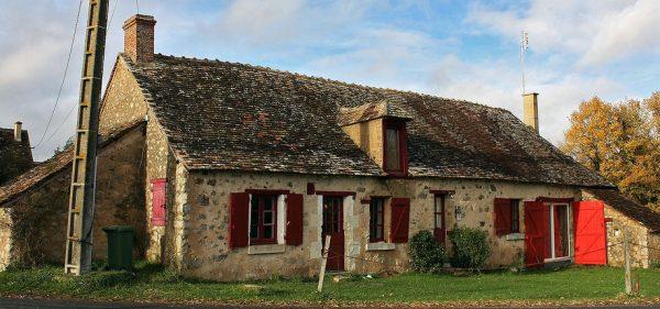 Uma casa típica do Berry