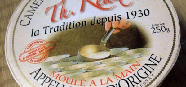 Camembert de leite cru Th. Réaux