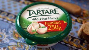 Queijo fresco com alho e ervas finas Tartare