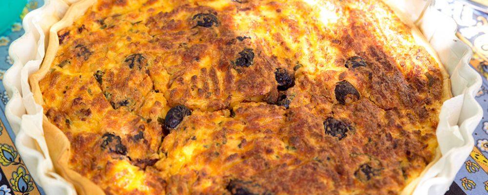 Tarte de queijo brousse